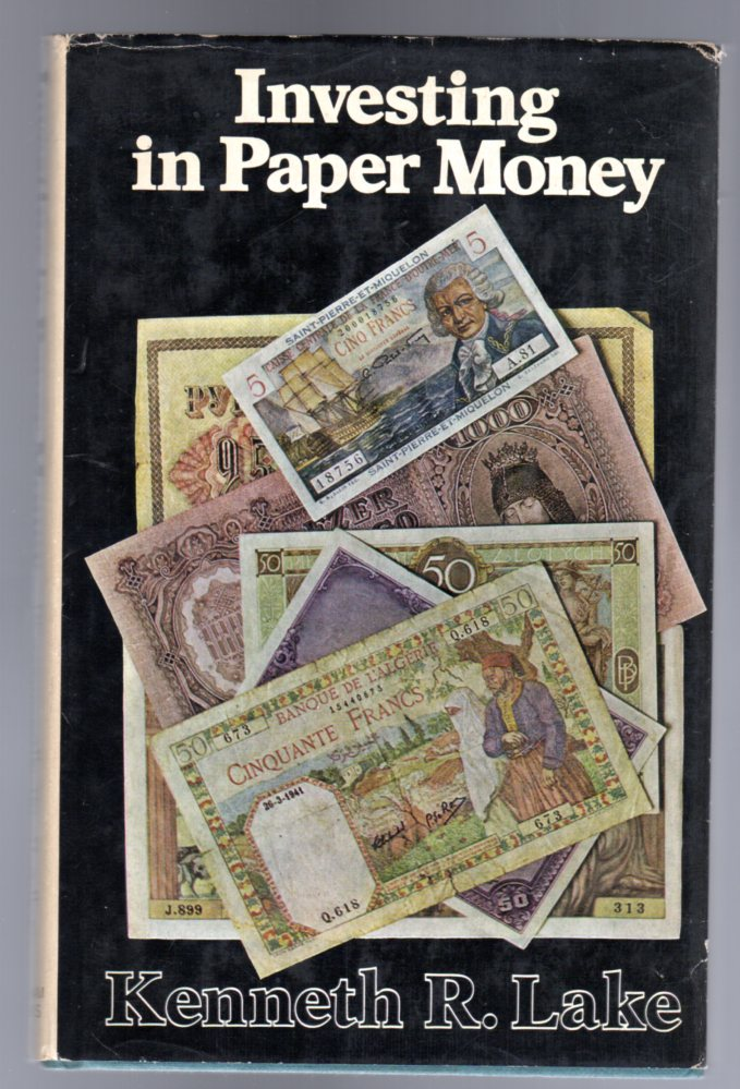 Image for Investing in Paper Money