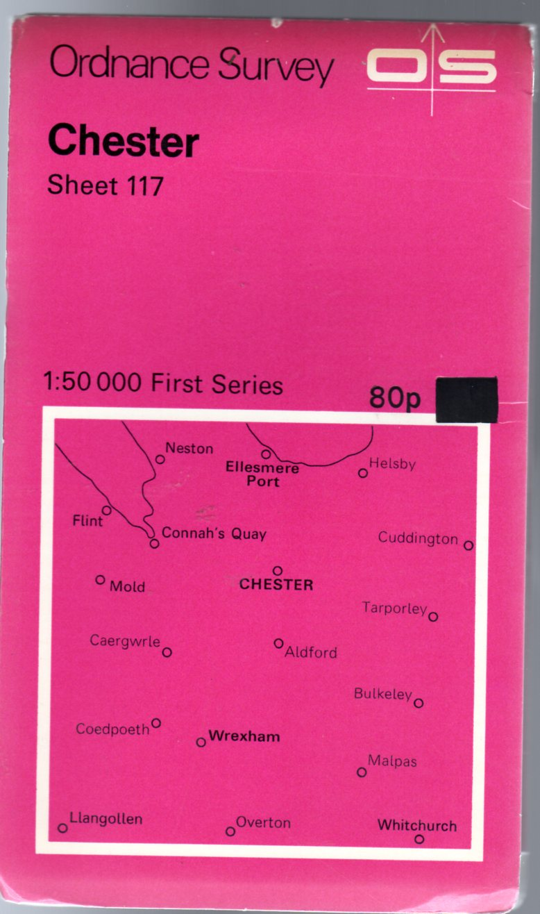 Image for Ordnance Survey Sheet 117 Chester