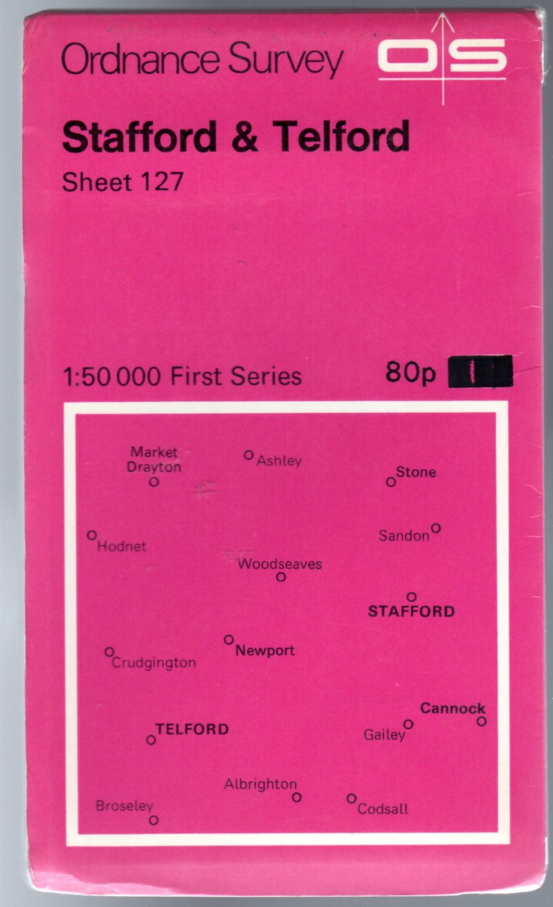 Image for Ordnance Survey Sheet 127 - Stafford & Telford