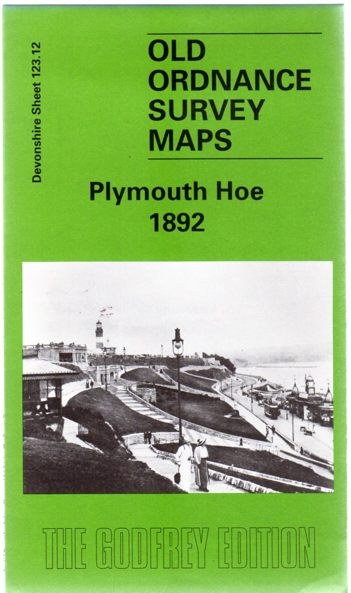 Image for Old Ordnance Survey Maps - Devonshire Sheet 123.12 Plymouth Hoe 1892