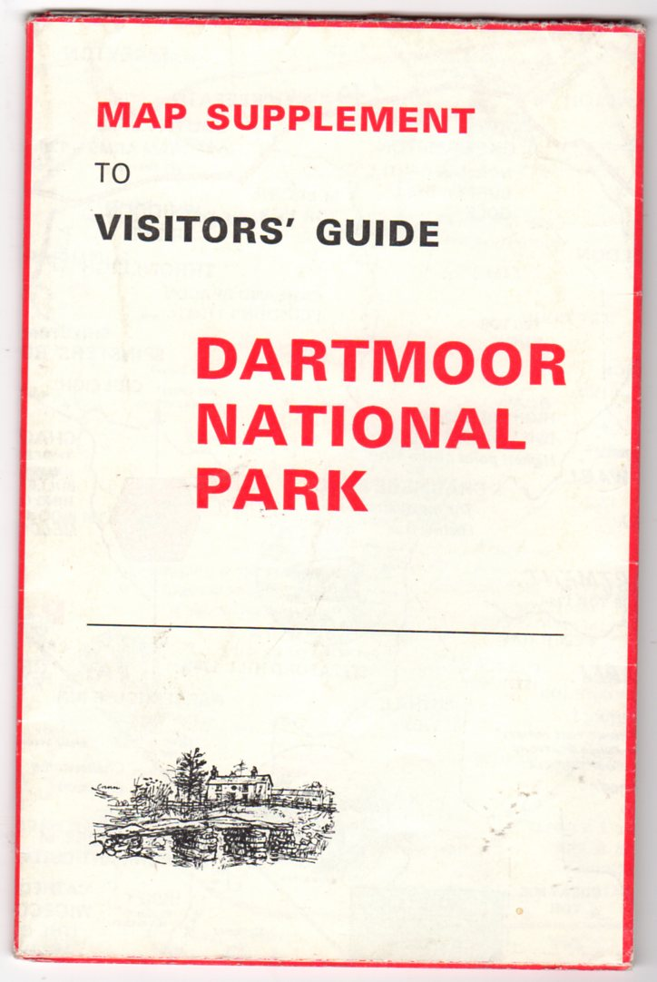 Image for Map Supplement to Visitors' Guide Dartmoor National Park
