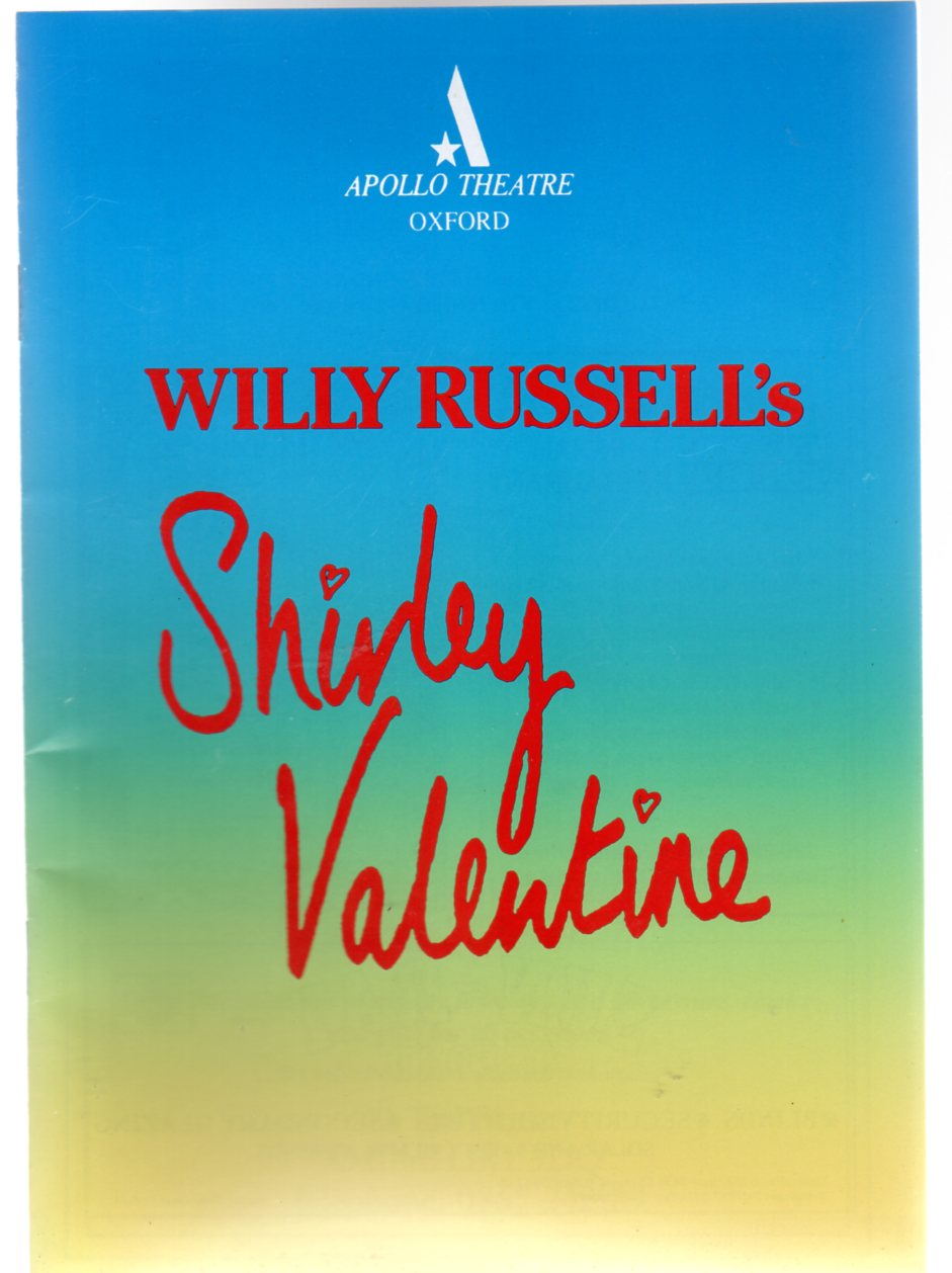 Image for Shirley Valentine ( Theatre Programme )