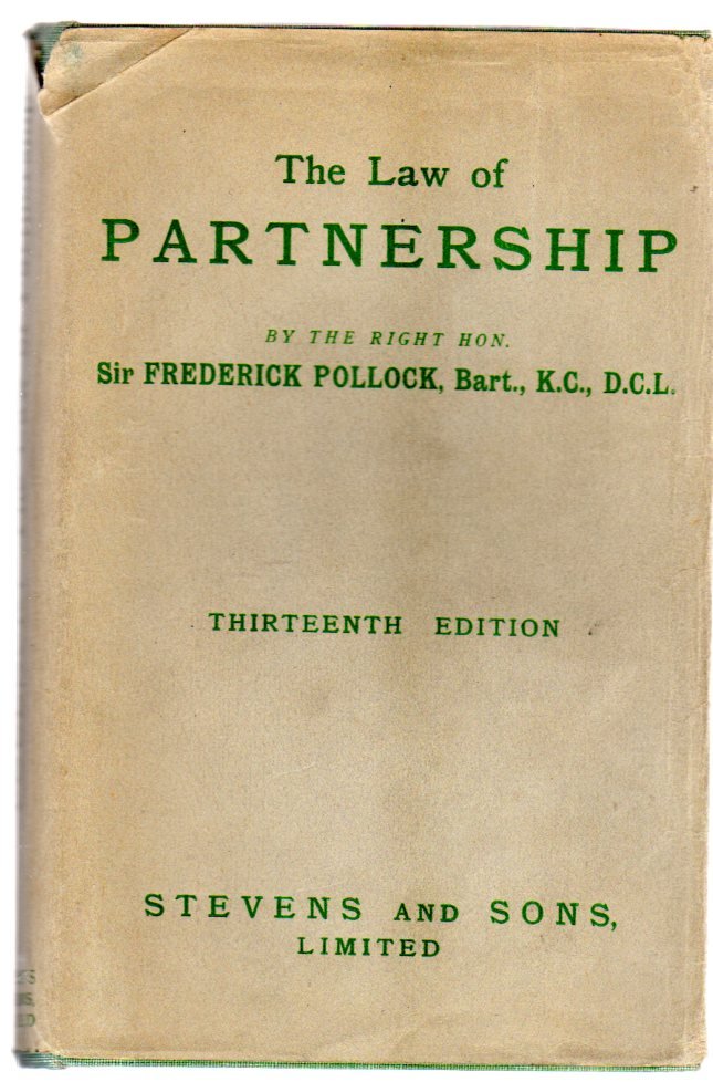 Image for A Digest Of The Law Of Partnership, With Forms, And An Appendix On The Limited Partnership Act, 1907, Together With The Rules And Forms, 1907, 1909
