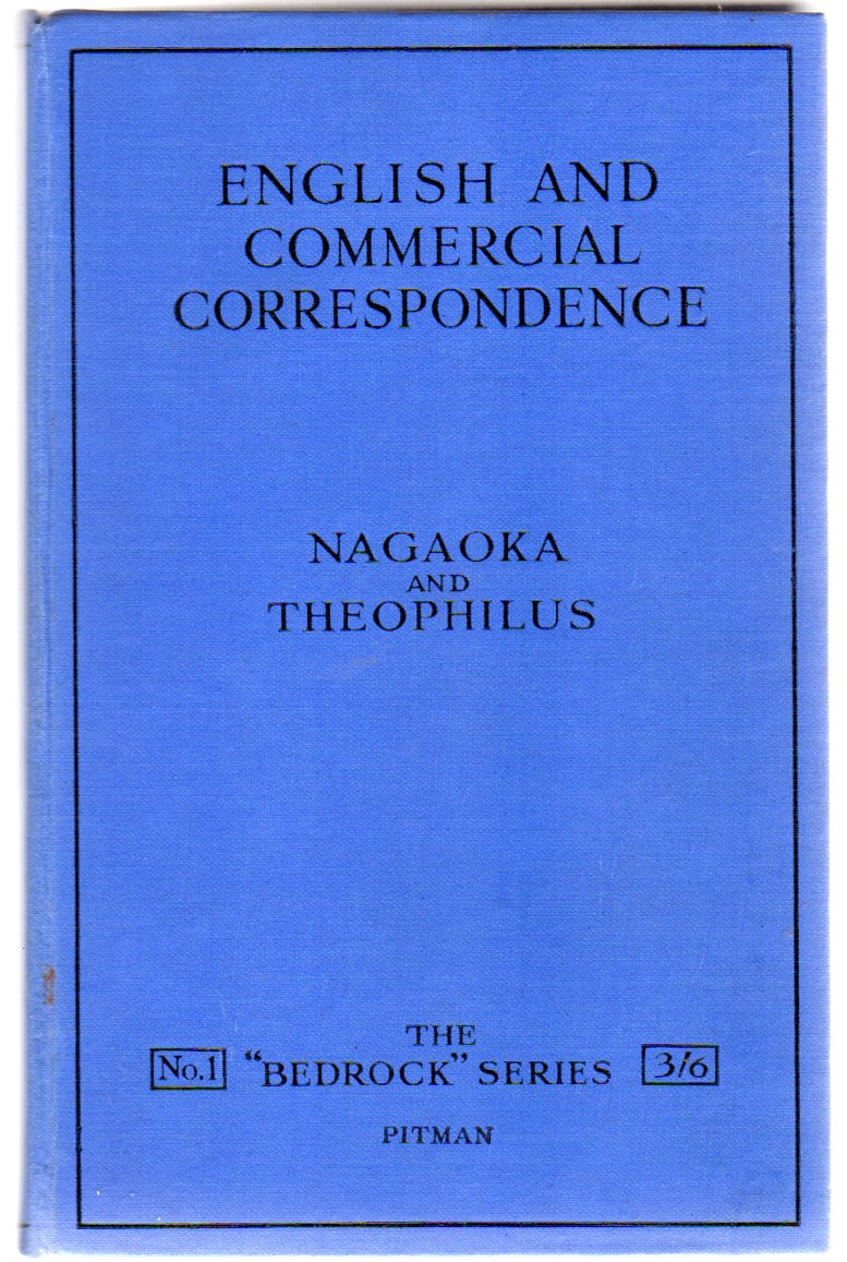 Image for English and Commercial Correspondence : A Course of Training in the Writing of English
