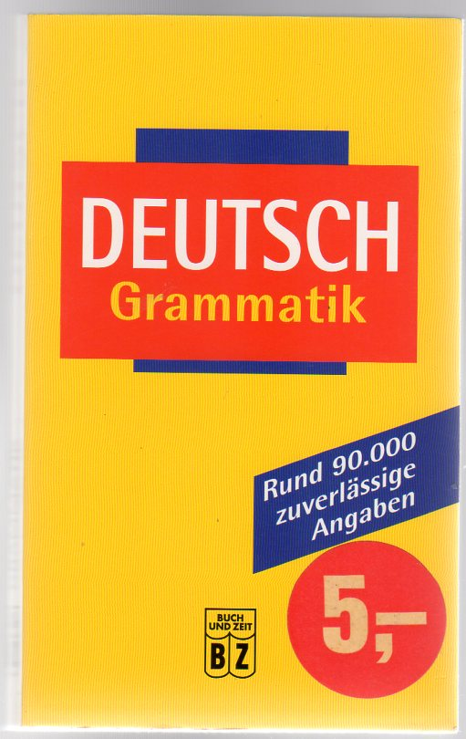 Image for Deutsch Grammatik