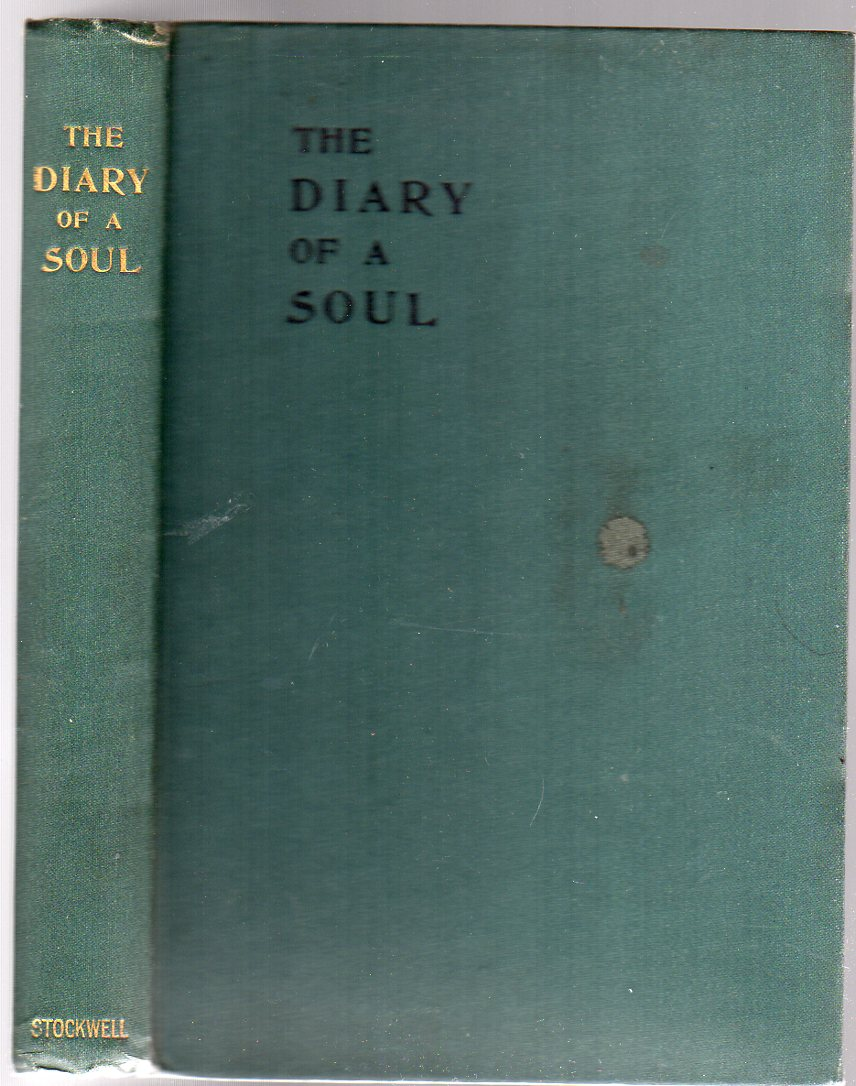 Image for The Diary of a Soul in the year 1901