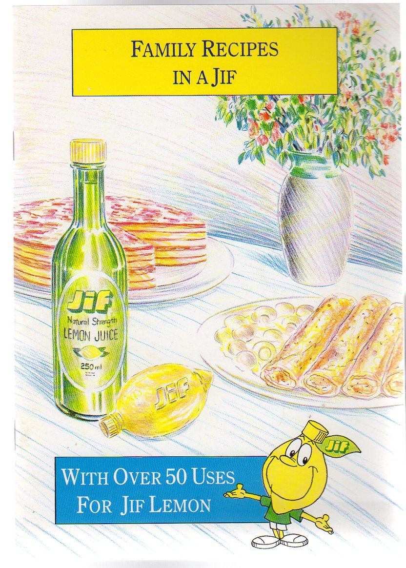 Image for Family Recipes in a Jif