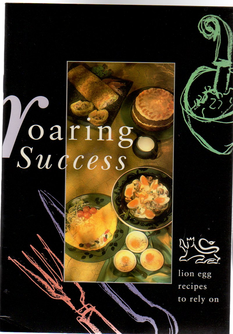 Image for Roaring Success - Lion Egg Recipe Booklet
