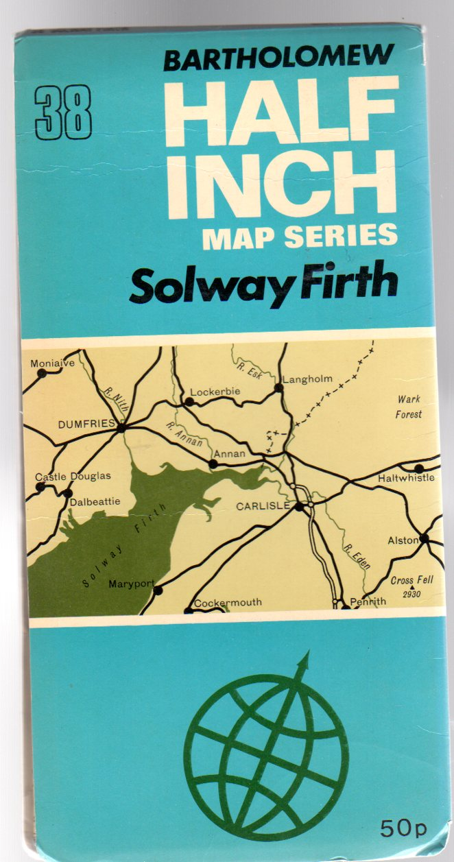 Image for Bartholomew  Half-Inch  Map Sheet 38 Solway Firth