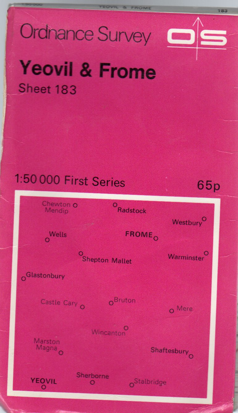 Image for Ordnance Survey Sheet 183 Yeovil & Frome
