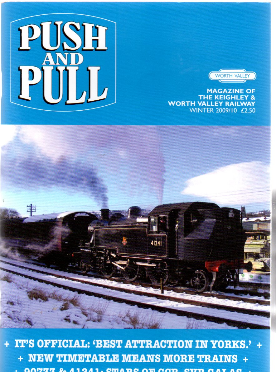Image for Push and Pull : Magazine of the Keighley & Worth Valley Railway - Winter 2009/10