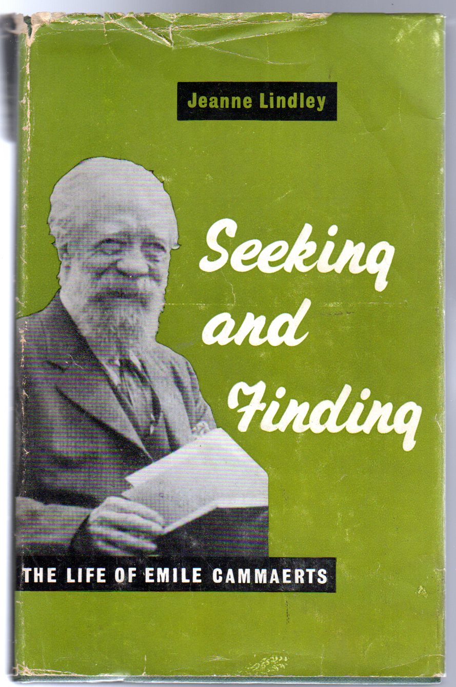Image for Seeking and Finding : The Life of Emile Cammaerts