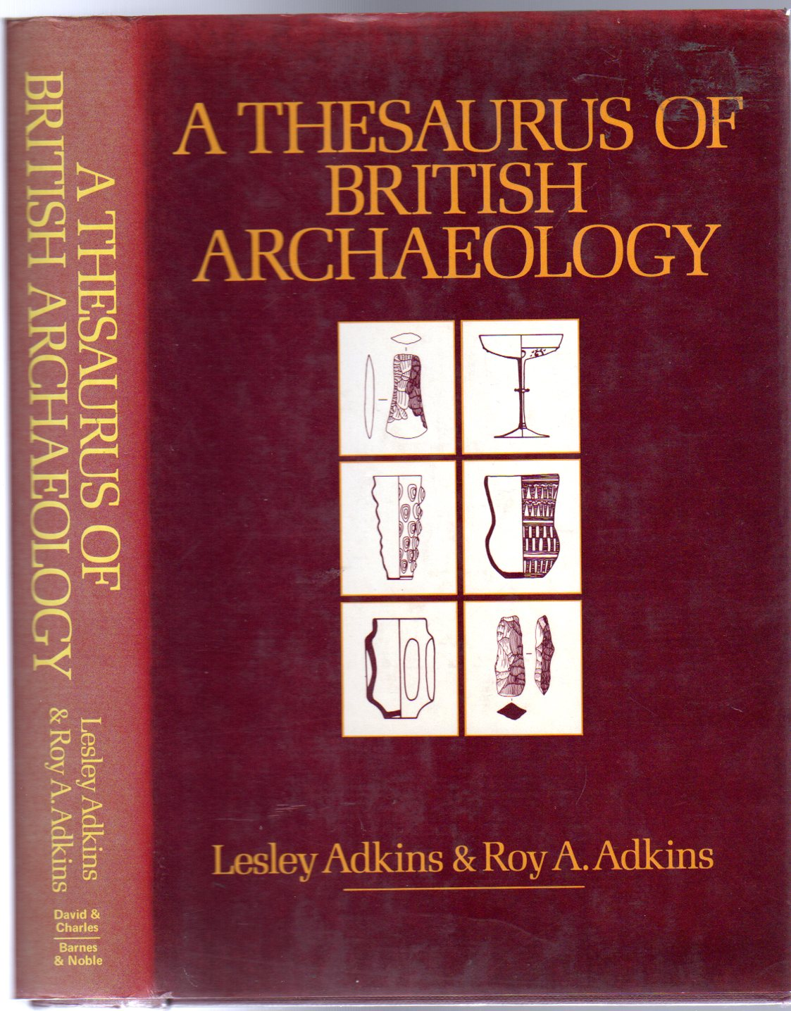 Image for A Thesaurus of British Archaeology