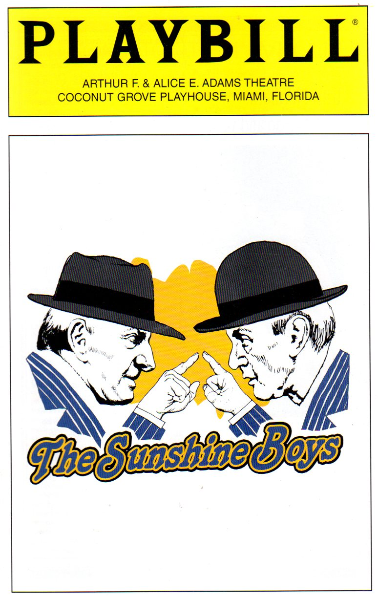 Image for The Sunshine Boys  (THEATRE PROGRAMME)