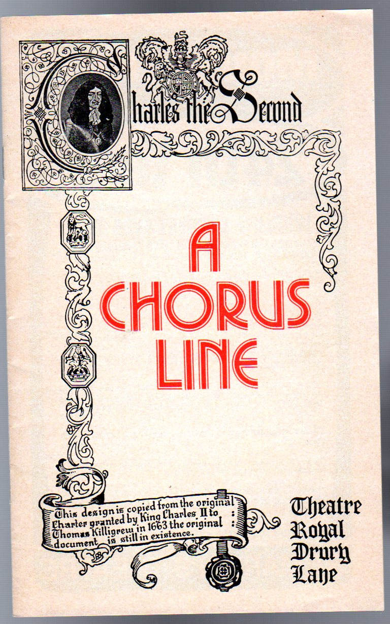 Image for A Chorus Line  ( THEATRE PROGRAMME )