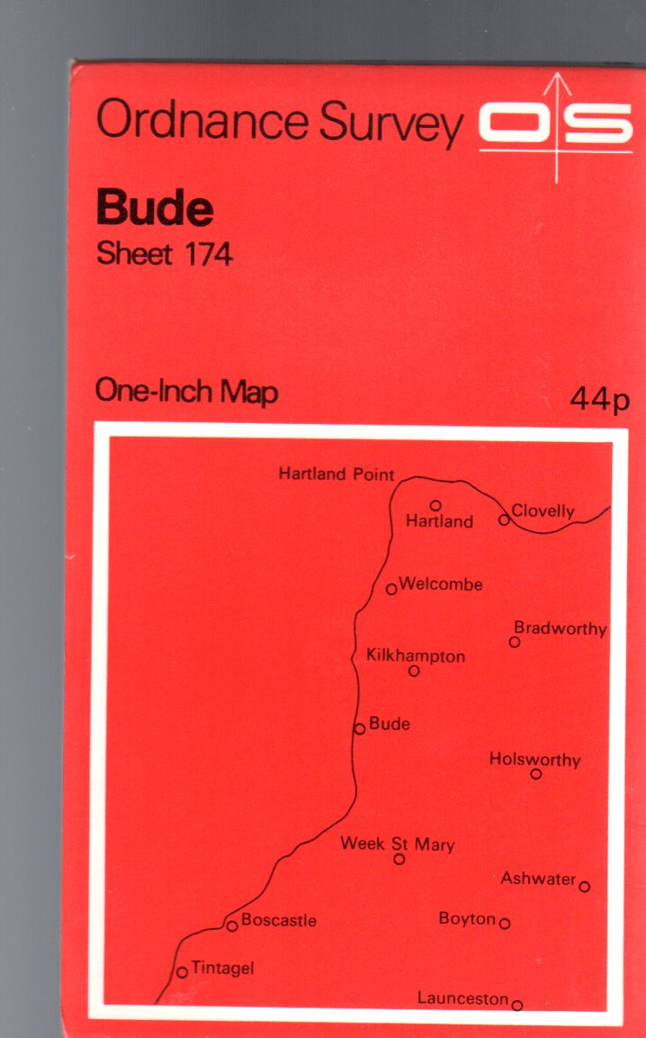 Image for Ordnance Survey  One-Inch Map  Sheet 174 Bude