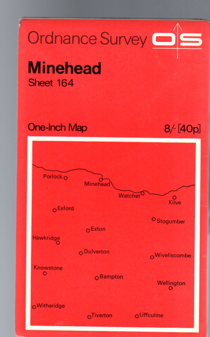 Image for Ordnance Survey  One-Inch Map Sheet 164 Minehead