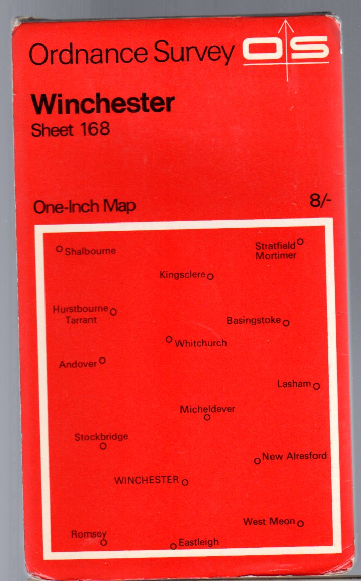 Image for Ordnance Survey  One-Inch Map Sheet 168 Winchester