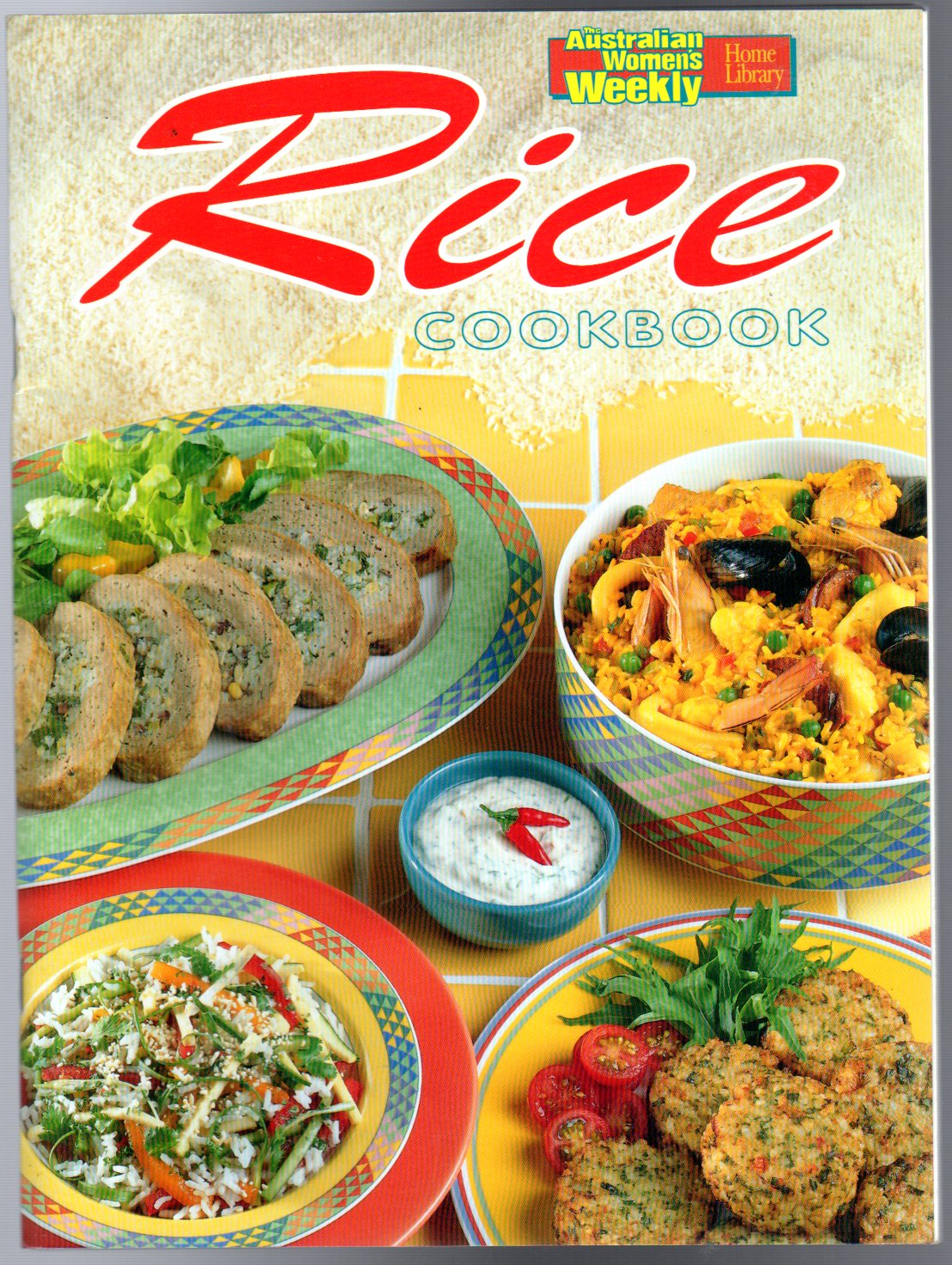 Image for Rice Cookbook