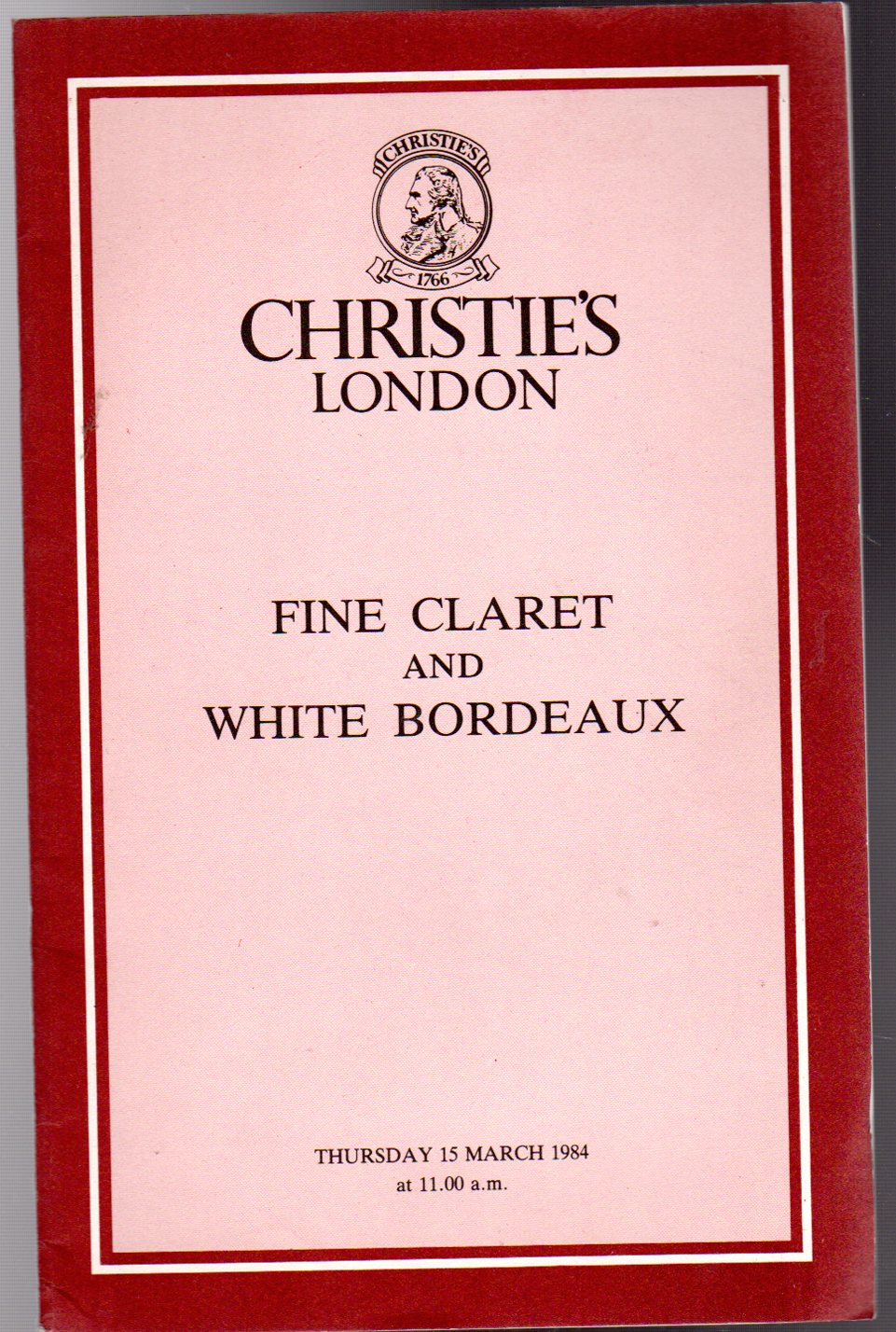Image for Fine Claret and White Bordeaux