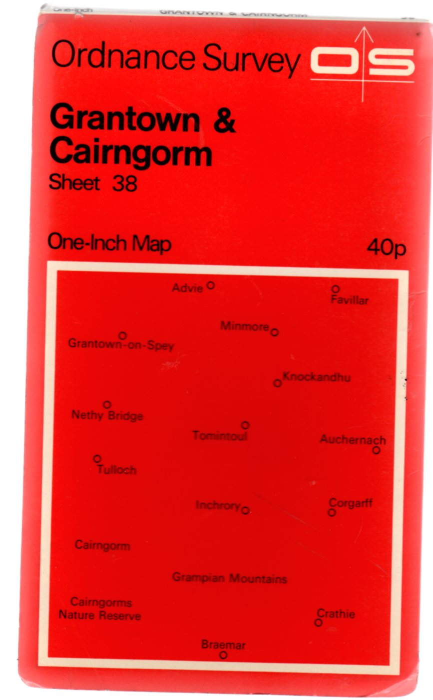 Image for Ordnance Survey  One-Inch Map Sheet 38 - Grantown and Cairngorm