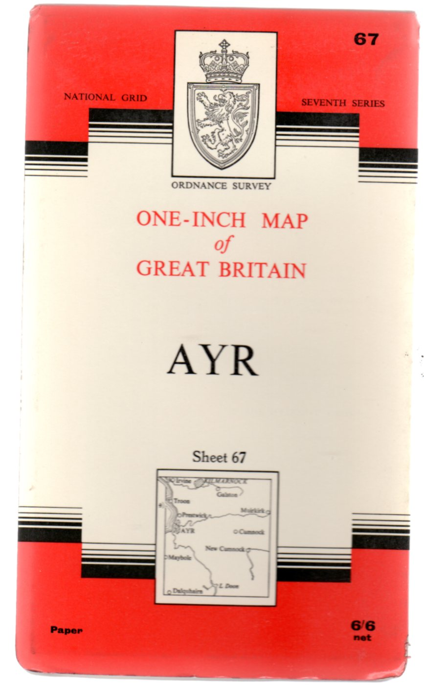 Image for Ordnance Survey  One-Inch Map  of Great Britian Sheet 67 Ayr