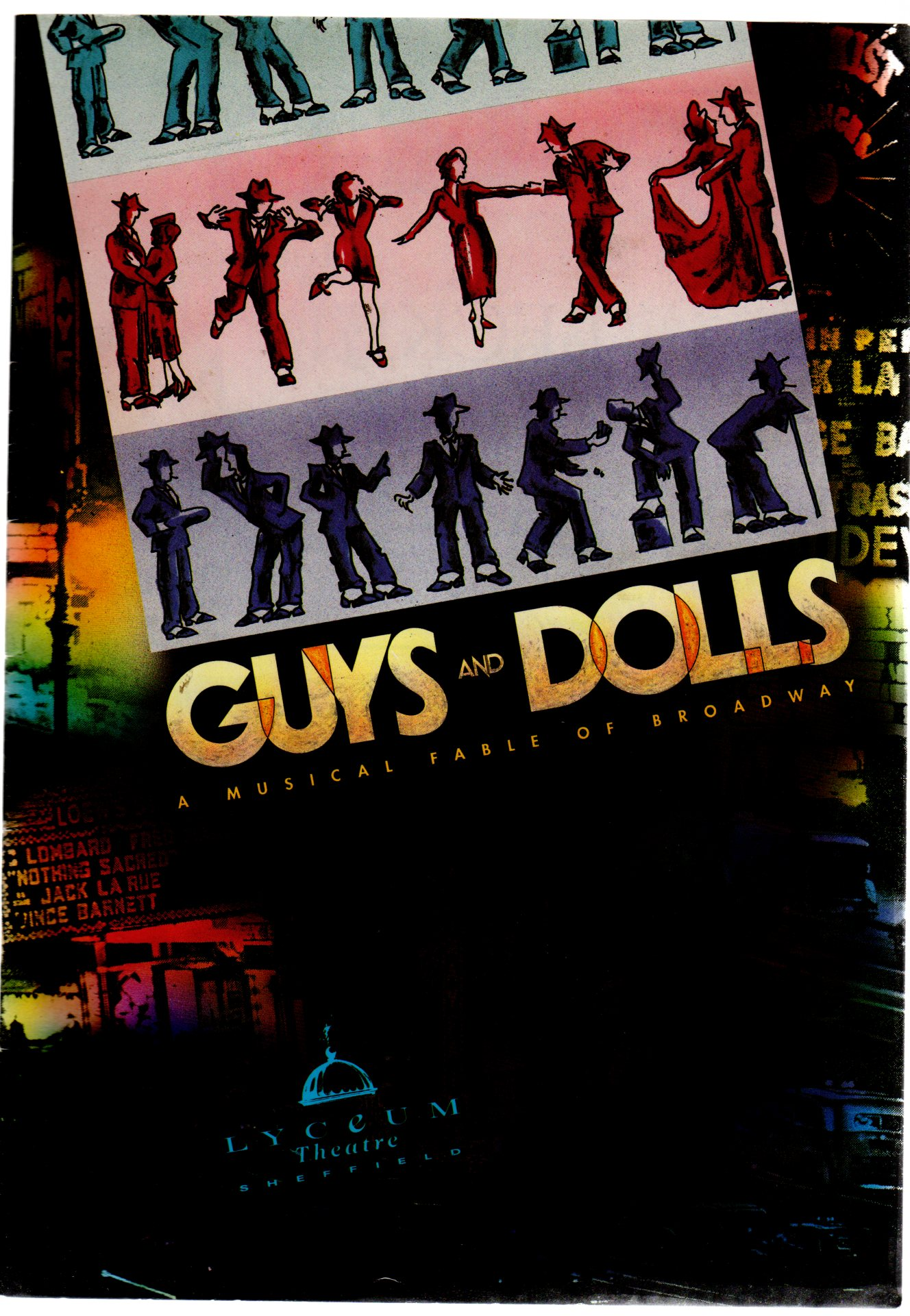 Image for Guys and Dolls  ( THEATRE PROGRAMME)