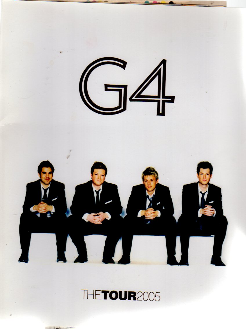 Image for G4 - The Tour 2005 ( CONCERT PROGRAMME)