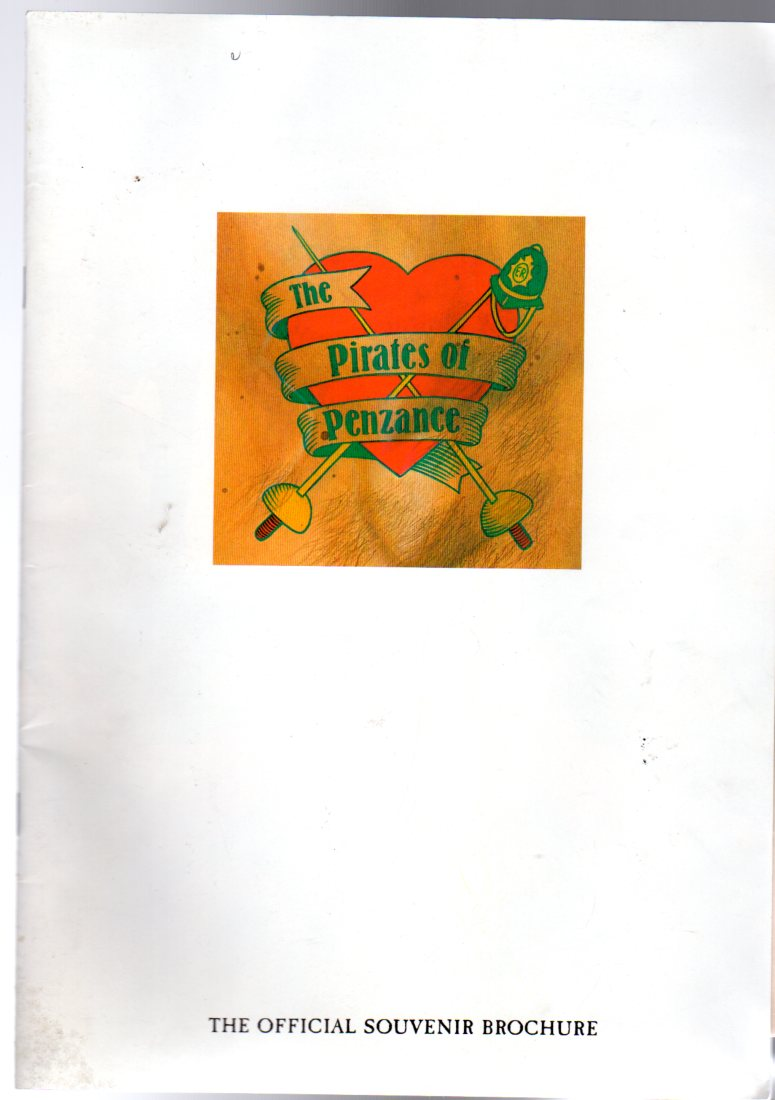 Image for The Pirates of Penzance (THEATRE PROGRAMME)