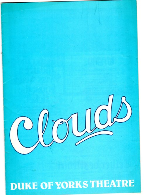 Image for Clouds   (THEATRE PROGRAMME)