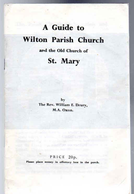 Image for A Guide to Wilton Parish Church and the Old Church of St. Mary
