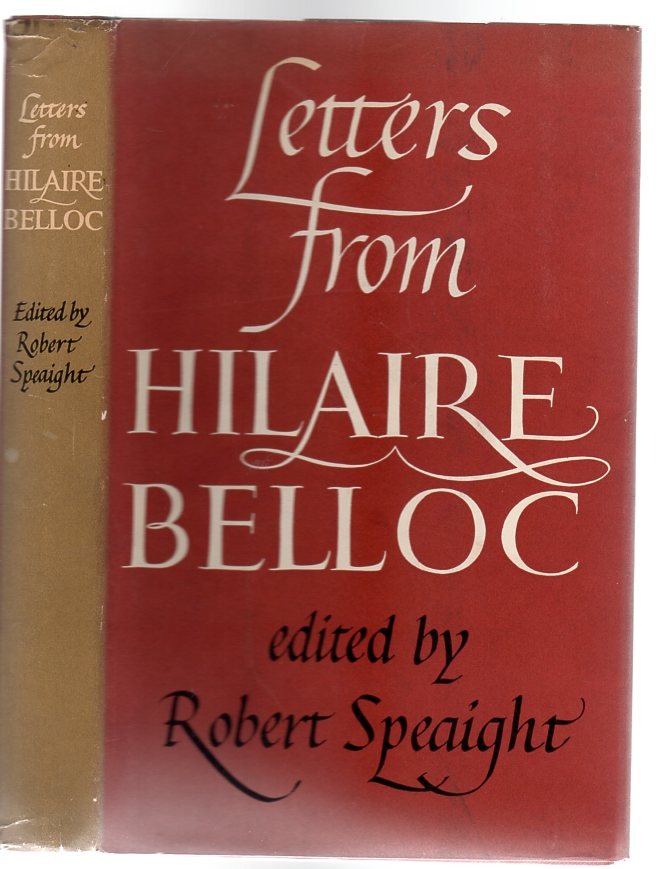 Image for Letters From Hilaire Belloc
