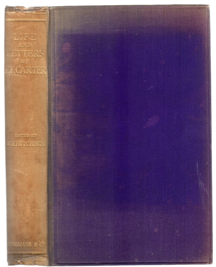 Image for Life and Letters of Thomas Thellusson Carter