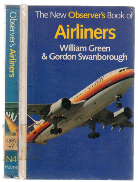 Image for The New Observers Book of Airliners