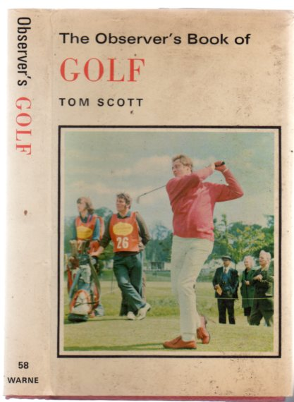 Image for The Observer's Book of Golf
