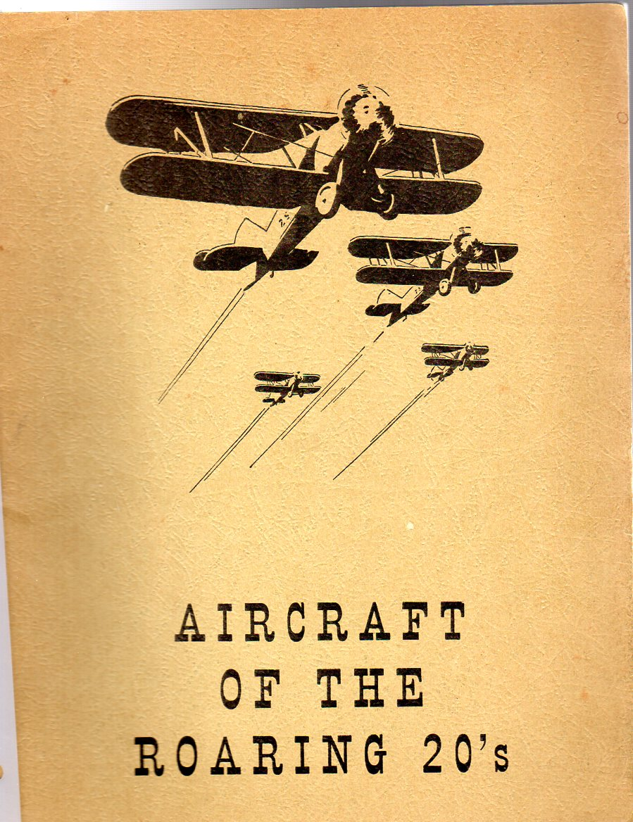 Image for Aircraft of the Roaring 20's : Volume 1 - Number 3