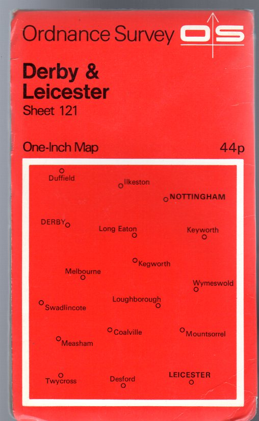 Image for Ordnance Survey  One-Inch Map of Great Britain Sheet  121 Derby and Leicester