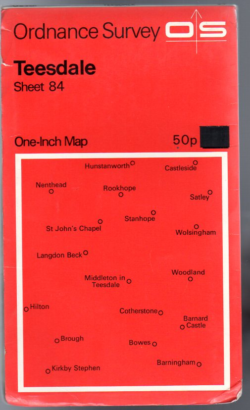 Image for Ordnance Survey  One-Inch Map of Great Britain Sheet 84 Teesdale