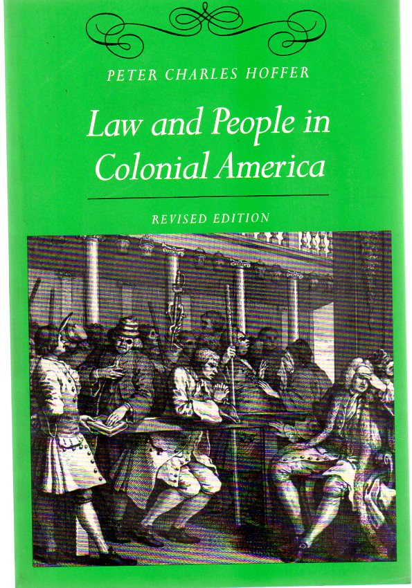 Image for Law and People in Colonial America