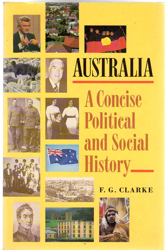 Image for Australia : A Concise Political and Social History