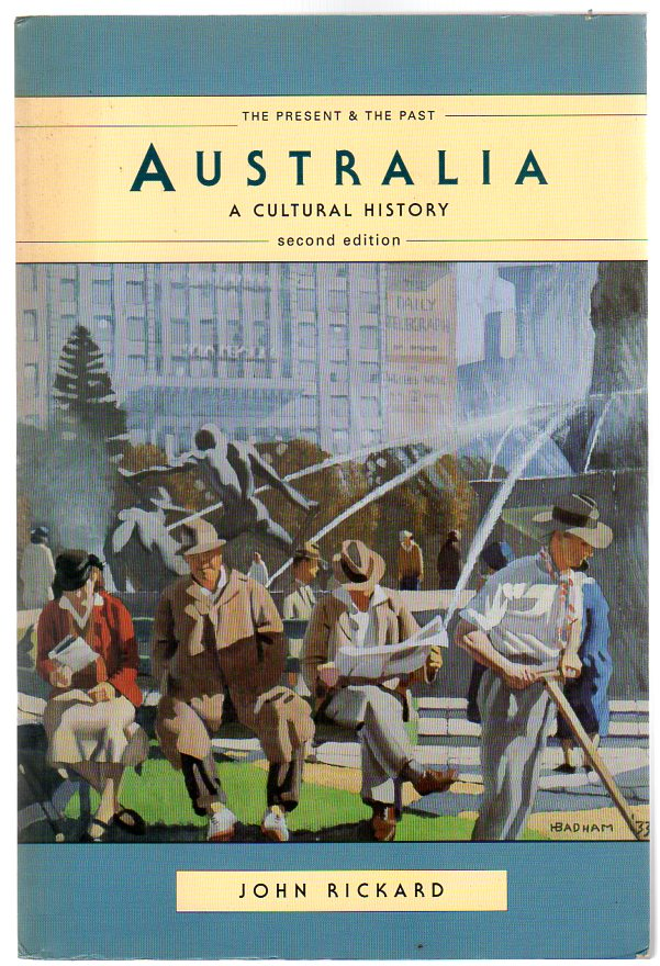 Image for Australia : A Cultural History