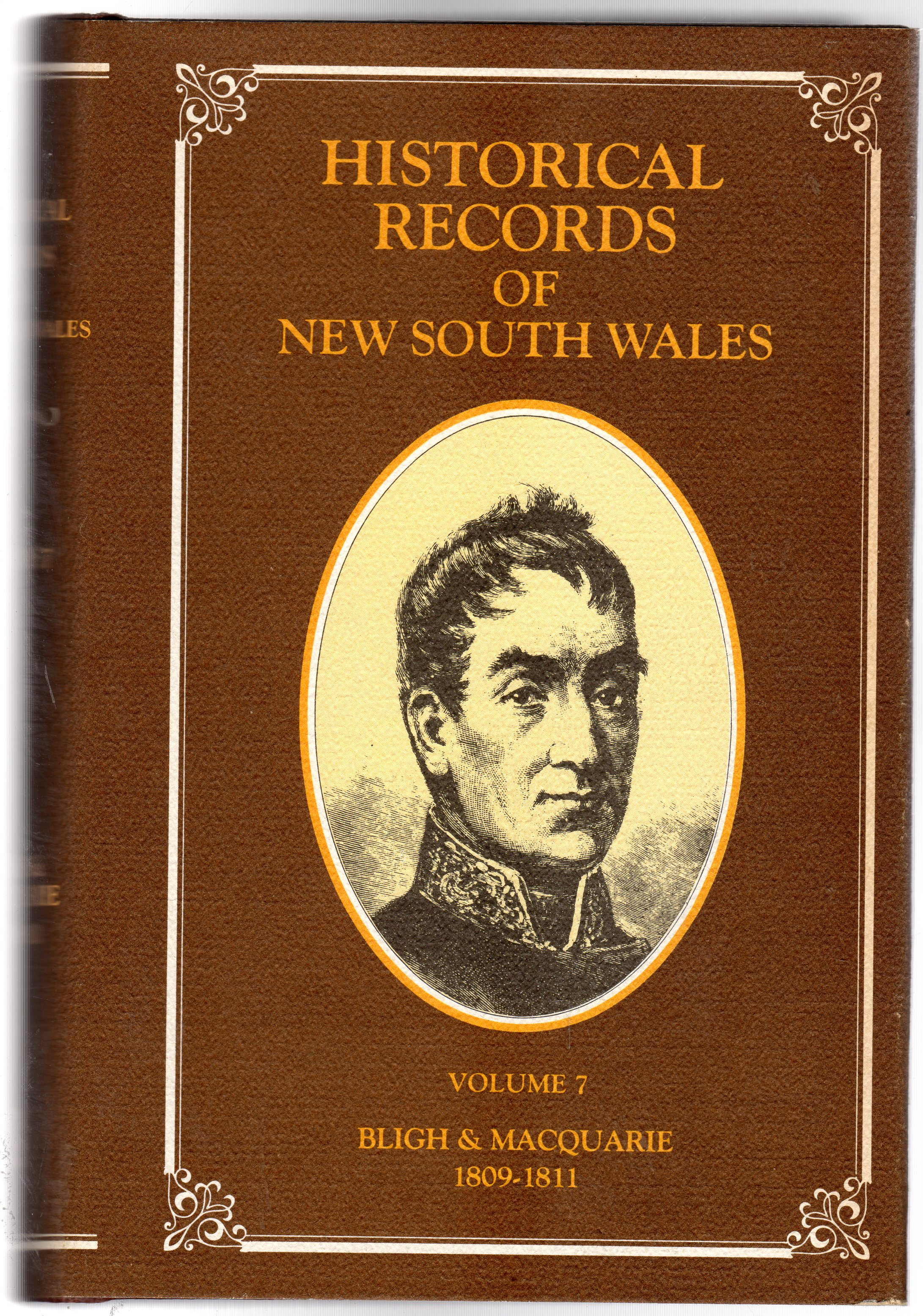 Image for Historical Records of New South Wales : Volume VII Bligh & Macquarie 1809, 1810, 1811