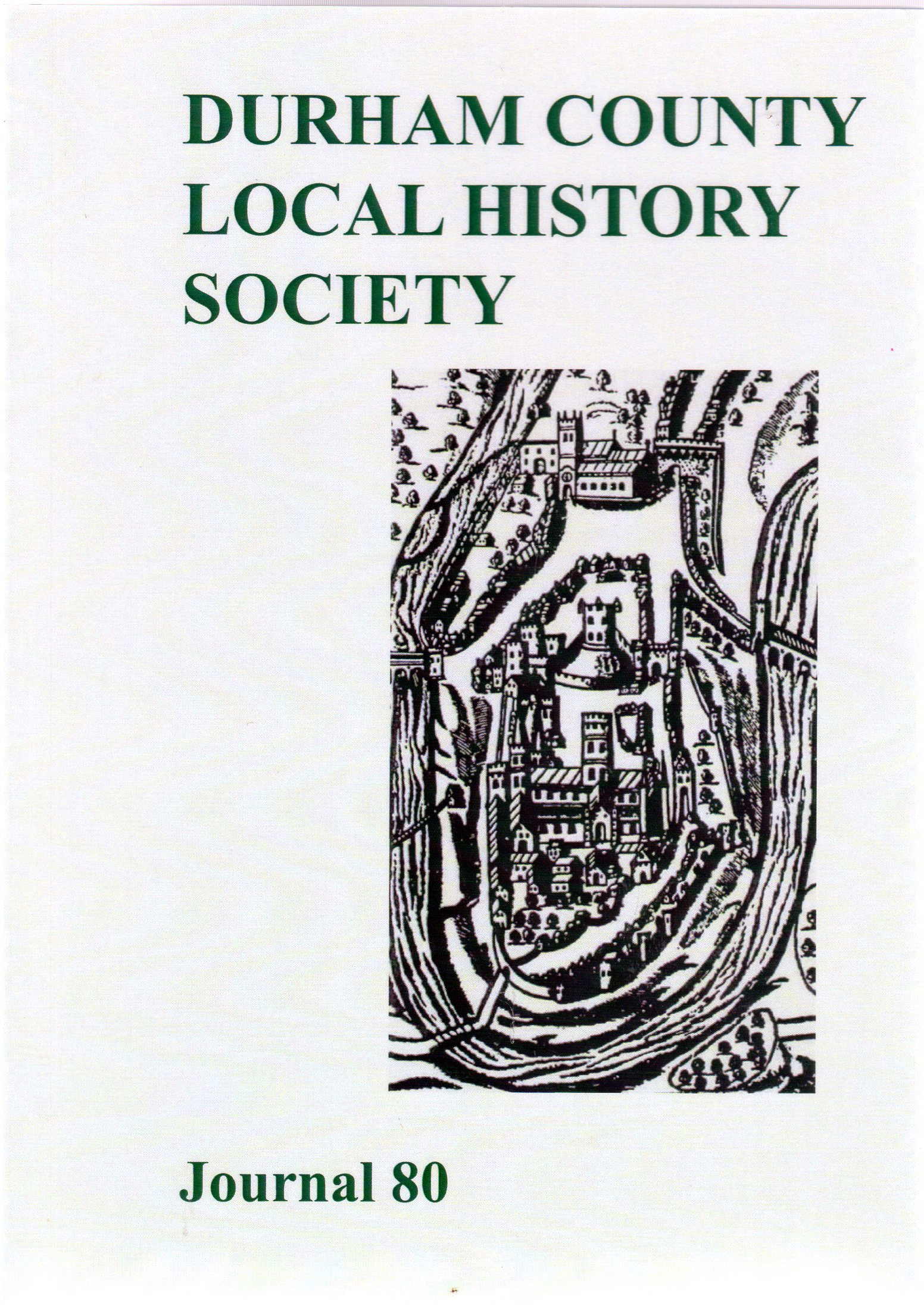 Image for Durham County Local History : Journal 80
