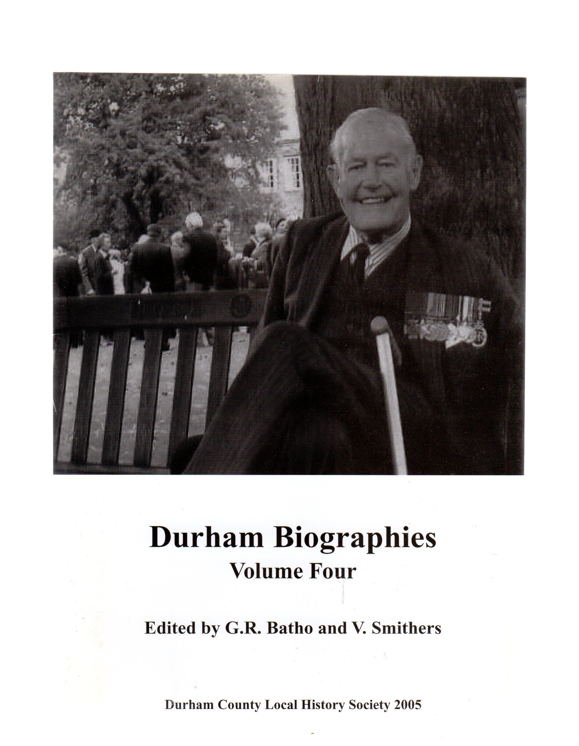 Image for Durham Biographies: Volume Four