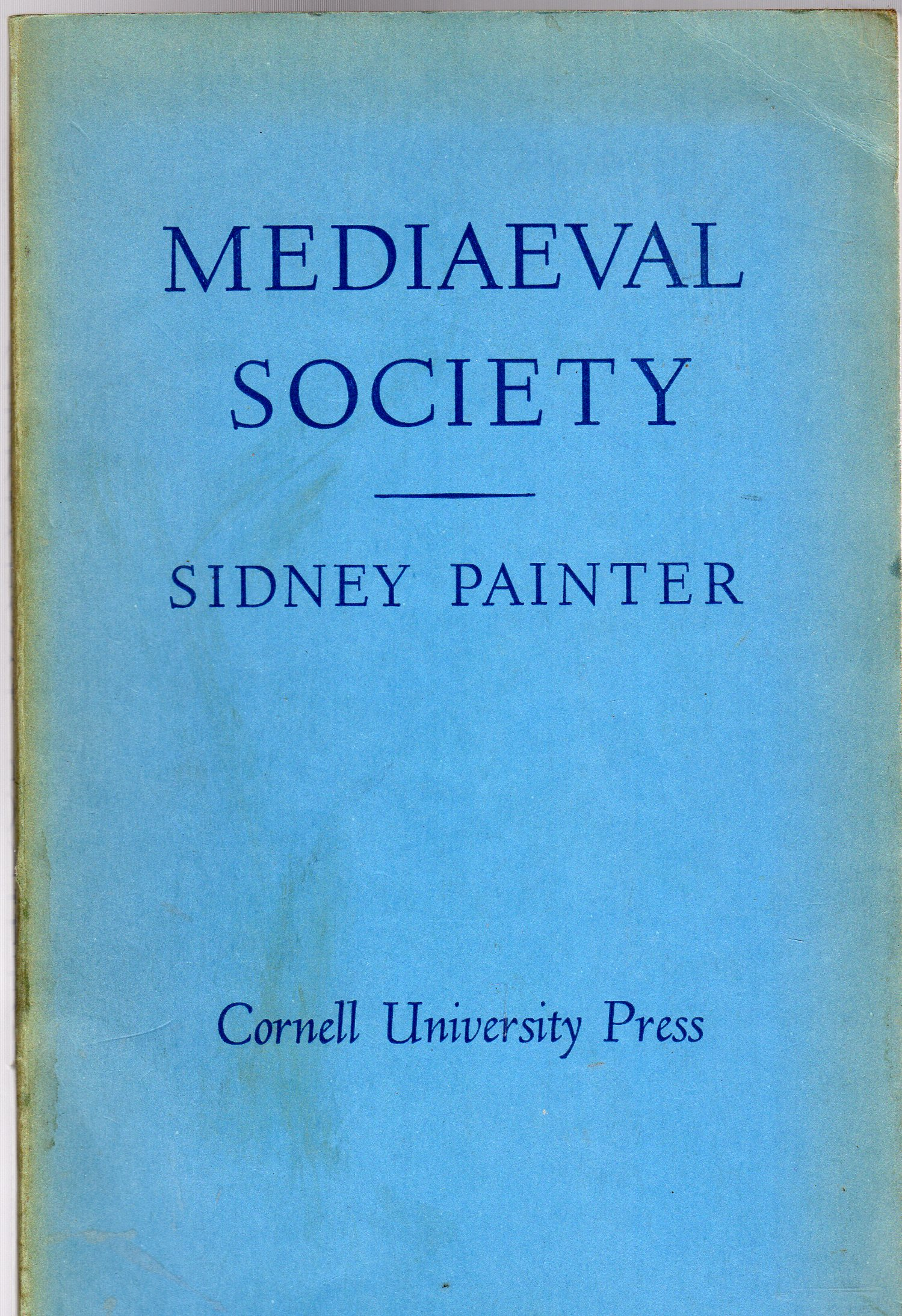 Image for Medieval Society