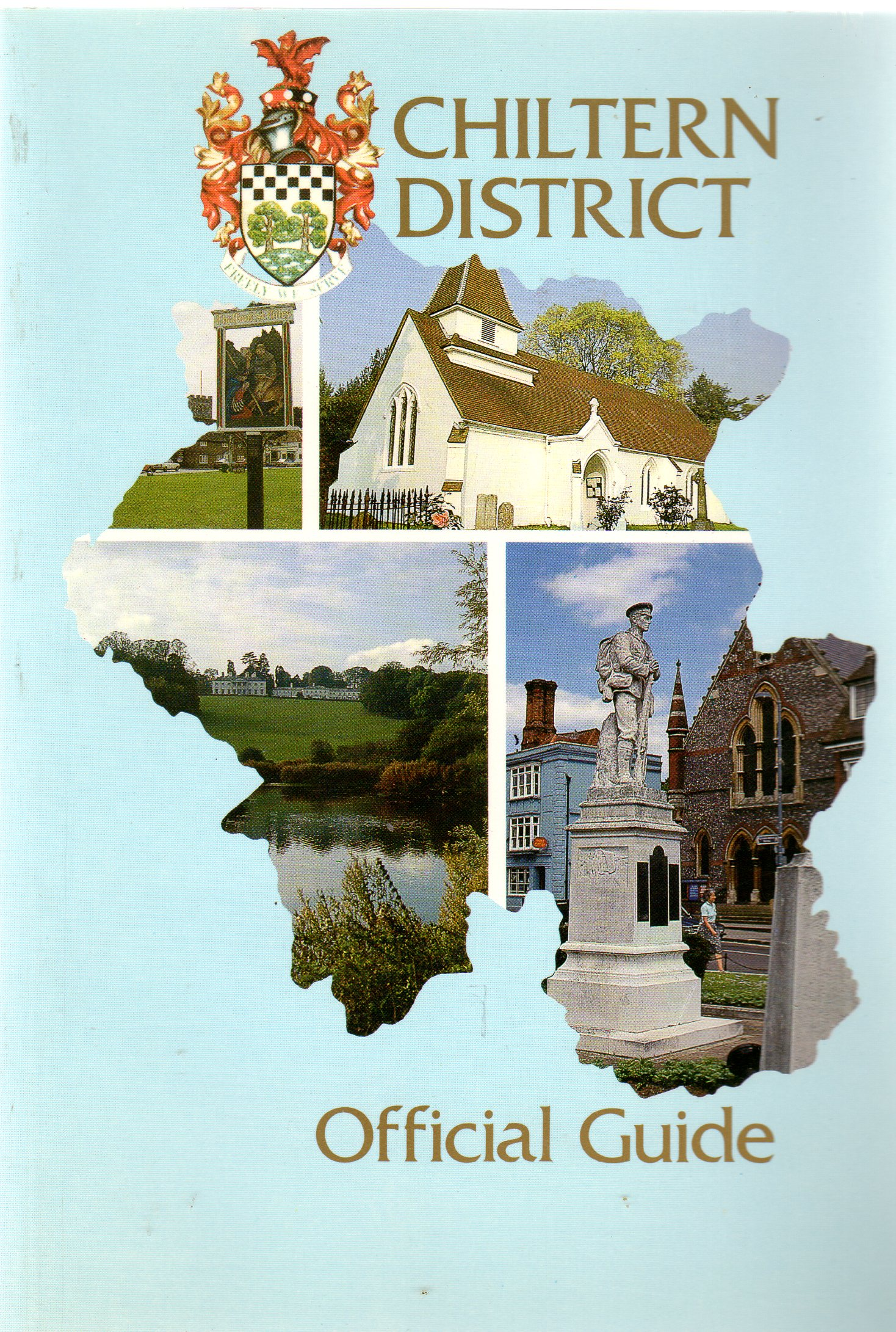Image for Chiltern District Official Guide