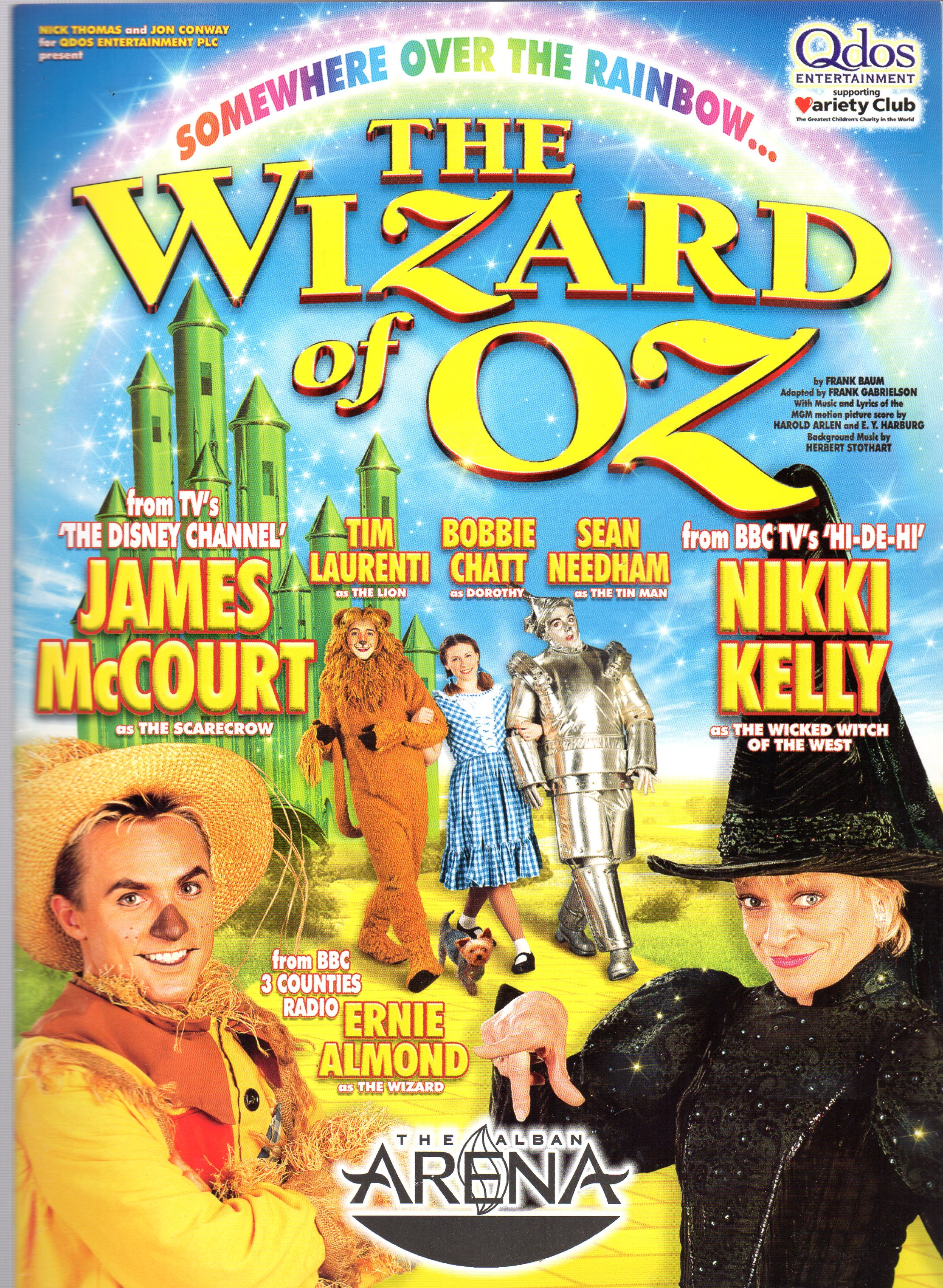 Image for The Wizard of Oz (THEATRE PROGRAMME)