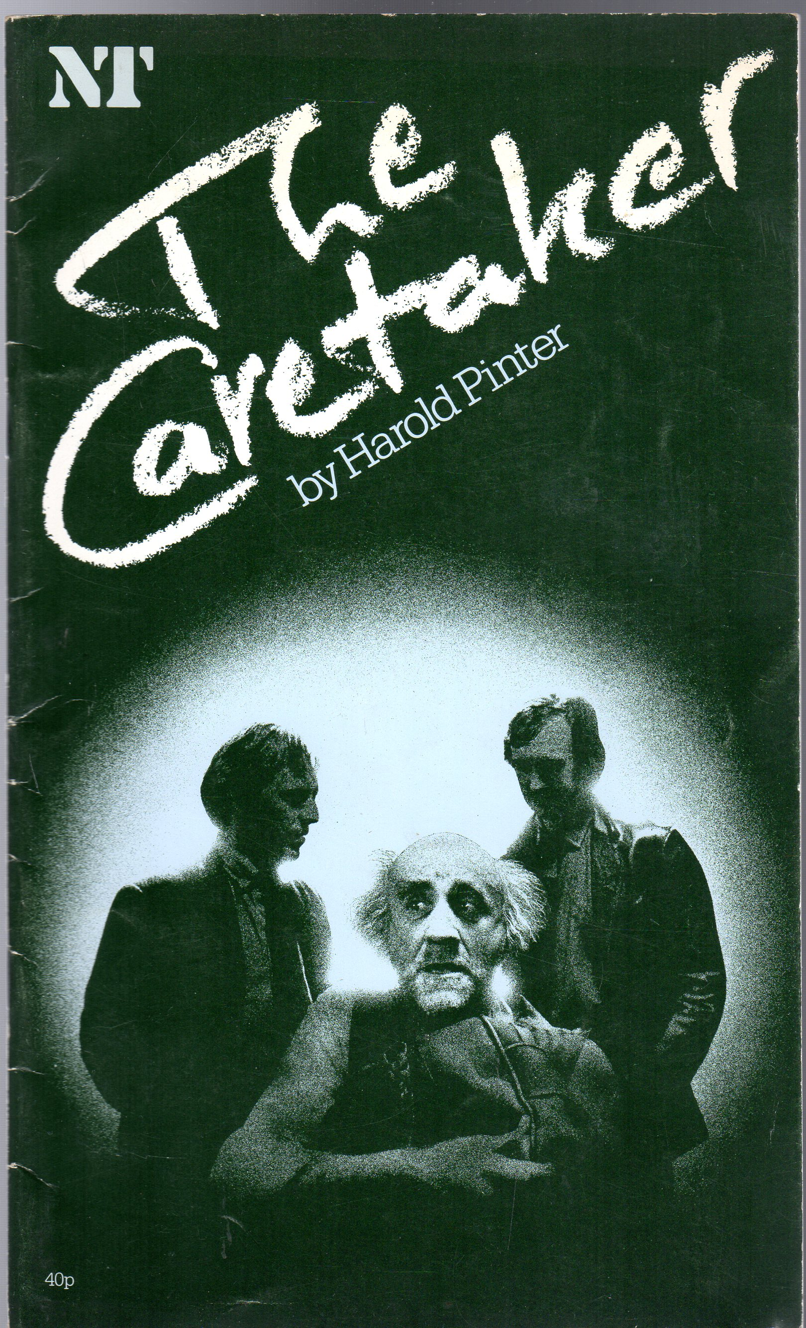 Image for The Caretaker (THEATRE PROGRAMME)