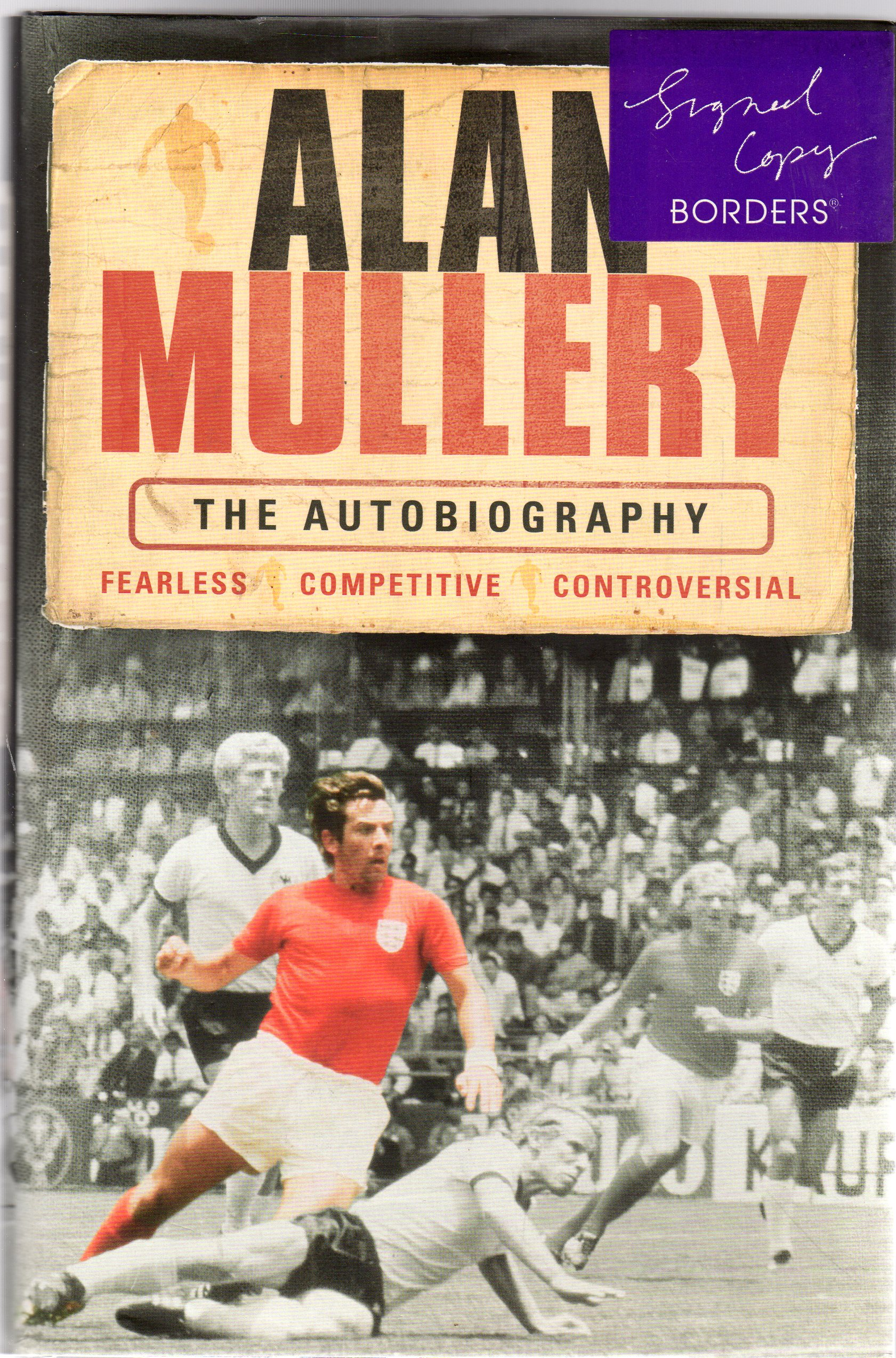 Image for Alan Mullery : The Autobiography