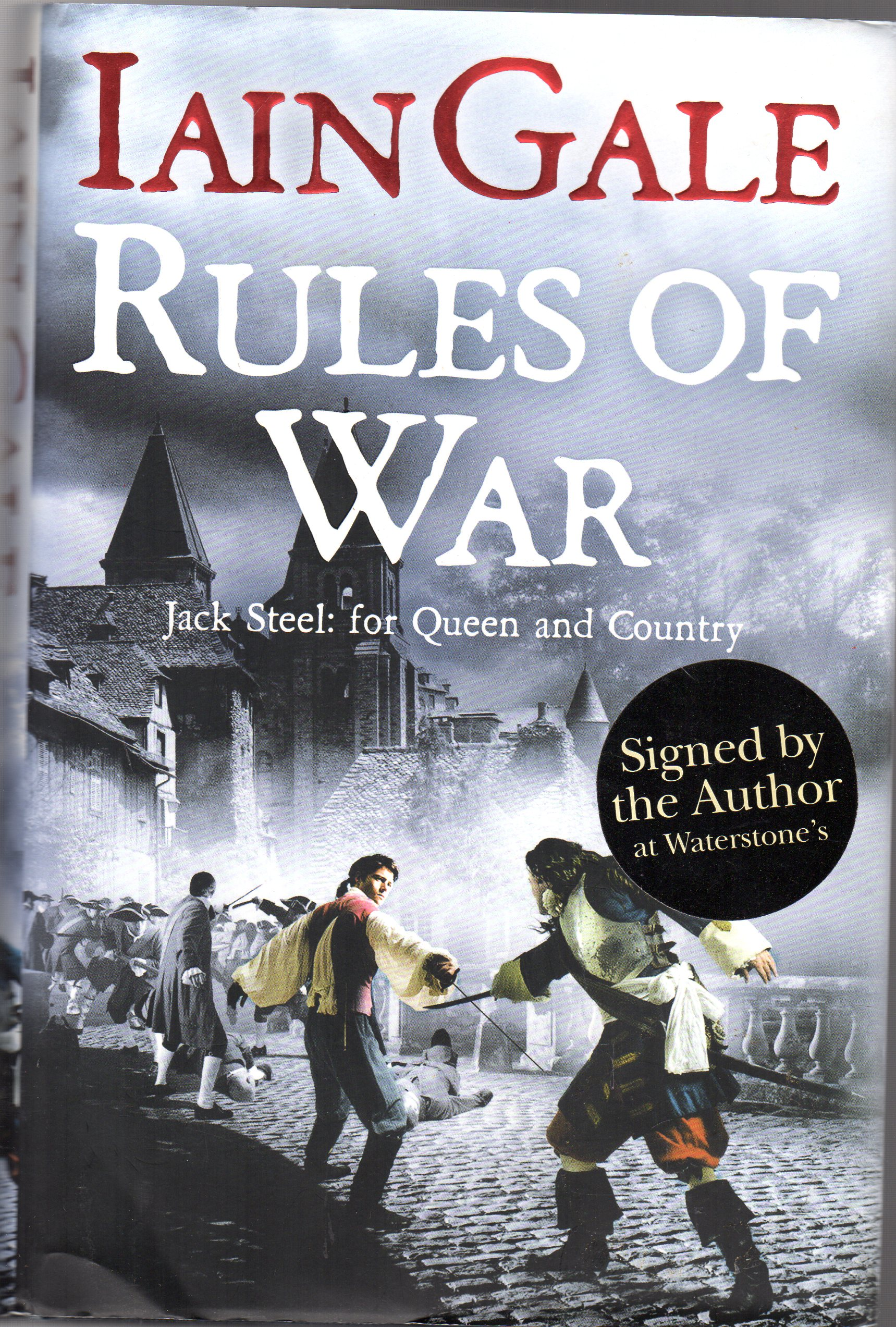 Image for Rules of War - SIGNED COPY